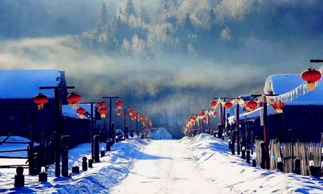 """高寒地带变旅游热土 黑龙江冰雪经济""""火""""起来"""
